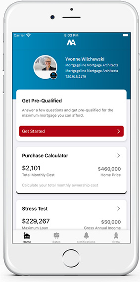 Download my mortgage planner app
